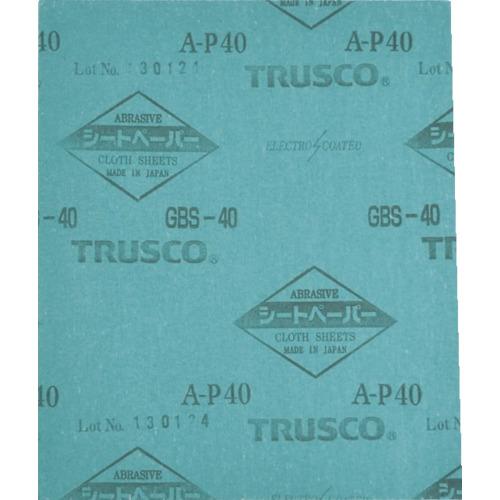 【50個セット】TRUSCO シートペーパー #100