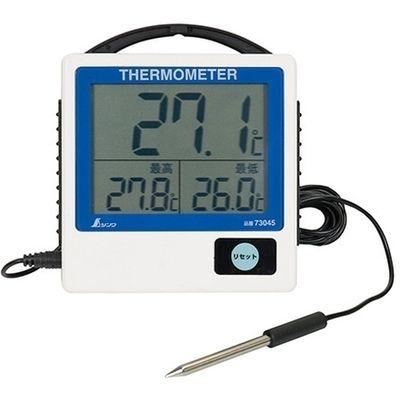 デジタル温度計 G-1 最高・最低 隔測式 防水型 73045