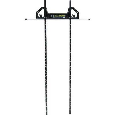 シンワ 丸ノコガイド定規Tスライドダブル 60cm(併用目盛・突き当て可動式)