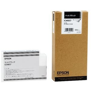 【クリックで詳細表示】(まとめ) エプソン EPSON PX-P/K3インクカートリッジ マットブラック 350ml ICMB57 1個 【×3セット】 :ds-1572066