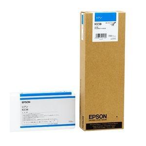 【クリックで詳細表示】(まとめ) エプソン EPSON PX-P/K3インクカートリッジ シアン 700ml ICC58 1個 【×3セット】 :ds-1572068