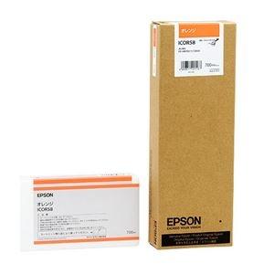 【クリックで詳細表示】(まとめ) エプソン EPSON PX-P/K3インクカートリッジ オレンジ 700ml ICOR58 1個 【×3セット】 :ds-1572075