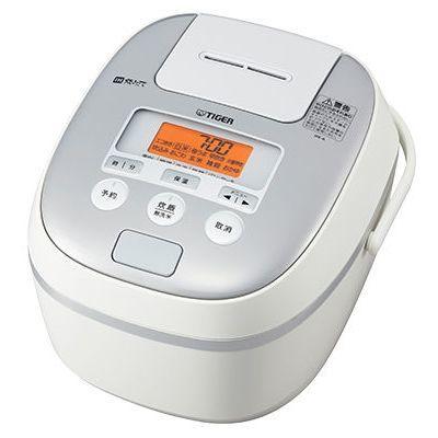 【クリックで詳細表示】5.5合炊きIH炊飯ジャー『炊きたて』(ホワイト) :JPE-A100-W