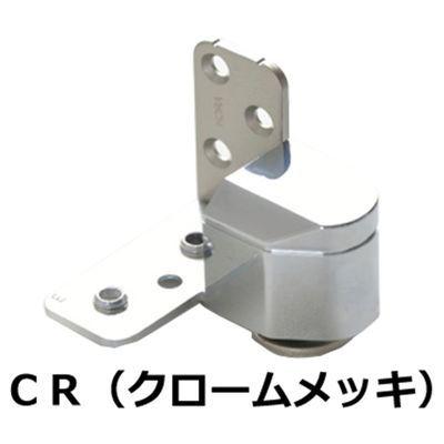 【クリックで詳細表示】№1910 3次元調整ピボットヒンジ 右 クローム鍍金 :0003-05611