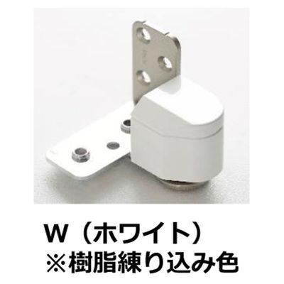 【クリックで詳細表示】№1910 3次元調整ピボットヒンジ 右 ホワイト樹脂 :0003-05631