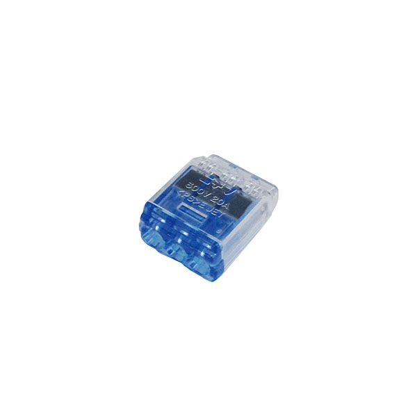 差込型電線コネクタ(QLX3/10個入り)