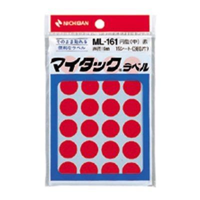 ニチバン 4987167001131 マイタック[TM]カラーラベル 一般用 ML-1611 (1P15シ-ト(360片))