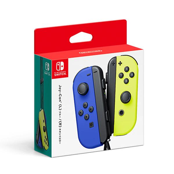 任天堂 4902370544060 Switch用 Joy-Con(L) ブルー/(R) ネオンイエロー