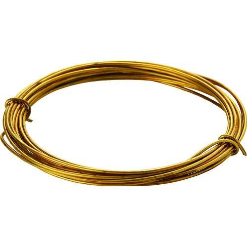 TRUSCO 真鍮線 線径1.20mmx約2.5m