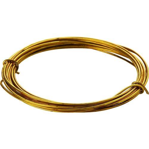 TRUSCO 真鍮線 線径0.35mmx約12m