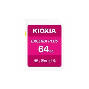 KIOXIA ds-2346786 SDカード EXERIA PLUS 64GB KSDH-A064G (ds2346786)