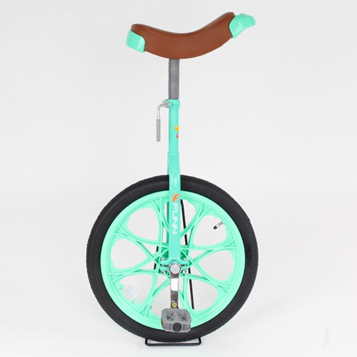 21Technology 4562320218764 一輪車 18インチ 子供用プレゼント スタンド付き (一輪車IR18-グリーン)