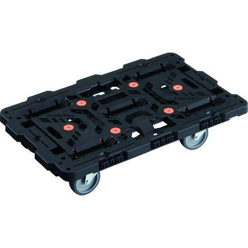 TRUSCO 連結式樹脂製平台車 ビートル 700X450 自在5輪