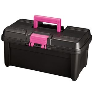 (まとめ)リングスター 工具箱 ECOTTE W380×D230×H180mm RE-380 1個 【×5セット】